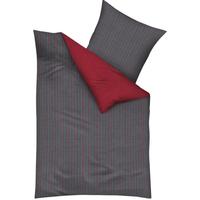 Mako-Satin rubin rot (135x200+80x80cm)