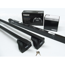 THULE Stahl Dachträger Mercedes Vito Viano ab 2004: 753+7125+3029