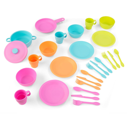KidKraft Kinder-Küchenset Küchen-Spielset bunt Kinder Kinder-Haushaltsgeräte Zubehör Kaufladen Kinderküchen Spielzeug-Haushaltsgeräte