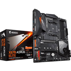 Gigabyte X570 AORUS ELITE Mainboard Sockel AMD AM4 Formfaktor ATX Mainboard-Chipsatz AMD® X570