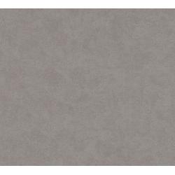 Vliestapete Pop Style, glatt, einfarbig grau