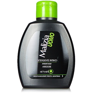 Malizia Uomo - Vetyver - Intimseife, 200 ml