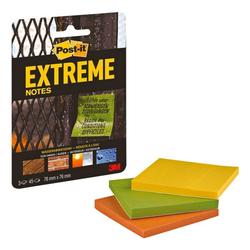 3er-Pack Haftnotizen »Extreme Notes« grün, Post-it EXTREME NOTES
