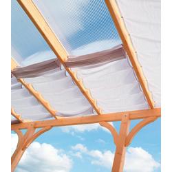 Floracord Sonnensegel Innenbeschattung, für Terrassendach Eco Gr. B, 6 Bahnen