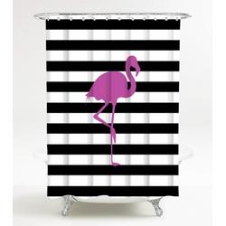 Duschvorhang Flamingo 180 x 200 cm