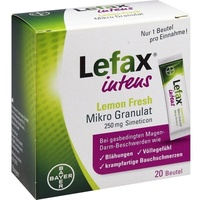 BAYER LEFAX intens Lemon Fresh 250 mg Granulat