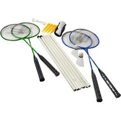 JOKA international Badmintonschläger Badminton Set 5in1