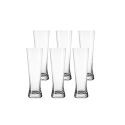 LEONARDO Bierglas BIONDA Weißbierglas 0,5l 6er Set (6-tlg)
