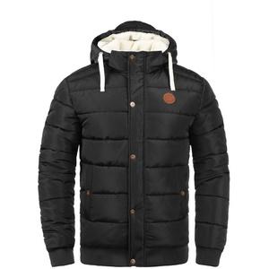 Blend Steppjacke Frederico warme Jacke mit abnehmbarer Kapuze schwarz XXL