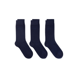 Gant Kurzsocken Herren Socken 3er Pack - Soft Cotton Socks blau