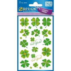 Sticker Papier Glück 1 Bogen