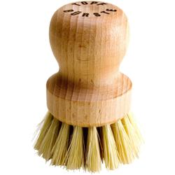 Topf-Pfannenbürste Fibre, Griff aus Holz, für alle Töpfe und Pfannen geeignet