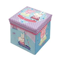 Peppa Pig Sitzhocker 2 in 1 Sitzhocker Peppa Pig mit Ablagebox