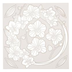 Stamperia Malvorlage Blumengirlande, 10 Teile