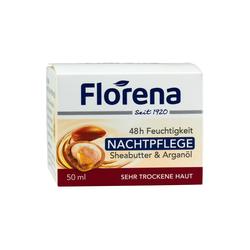 Florena Nachtpflege Sheabutter&Argan.