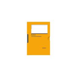 Reclam Verlag Notizbuch Universal-Notizbuch (orange)