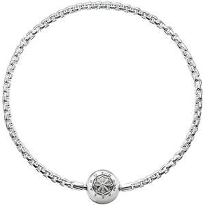 THOMAS SABO Damen-Armband für Karma Beads 925 Sterling Silber KA0001-001-12