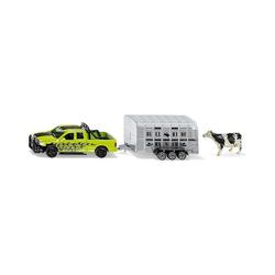 Siku Spielzeug-Auto RAM 1500 mit Viehanhänger