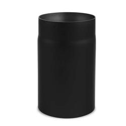 Ø 160 mm - Ofenrohr 25 cm Schwarz