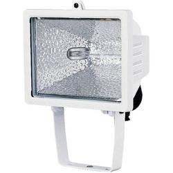 Brennenstuhl H500 Außenstrahler Halogen 400W R7s Weiß