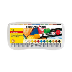 Eberhard Faber Malkreide Ölpastellkreiden, 12 Farben