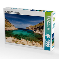 Cala Figuera - Mallorca, Spanien Lege-Größe 64 x 48 cm Foto-Puzzle Bild von TomKli Puzzle
