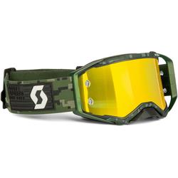 Scott Prospect Military Motocross Brille, schwarz-grün
