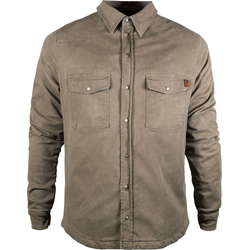 John Doe Motoshirt Basic, Hemd - Beige - XXL