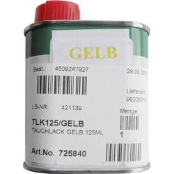 CLOU TLK125/BLAU Glühlampen-Tauchlack 125ml Blau