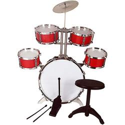 Schlagzeug XL Bass Drumsticks Drumset rot