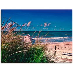 Artland Wandbild Ostsee Impression Heiligenhafen, Strand (1 Stück) 60 cm x 45 cm