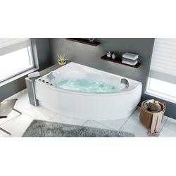 Emotion Whirlpool-Badewanne Constantin links Premium Whirlpool Set (L/B/H) 170/110/59