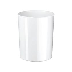 HAN Papierkorb iLine, mit glänzender Oberfläche weiß