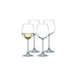 Nachtmann Weißweinglas Vivendi Weißweinkelch 4er Set (4-tlg), Kristallglas