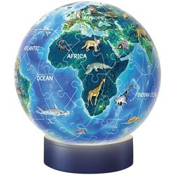 3D Puzzle® Nachtlicht Erde – Puzzle-Ball, bunt - bunt