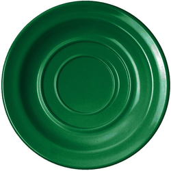 WACA Untertasse, (4 Stück), Melamin, 14 cm grün