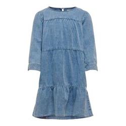 ONLY Locker Geschnittenes Jeanskleid Damen Blau Female 134