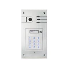 Türsprechanlage mit Tastatur und WLAN für iPhone und Smartphone