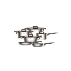 WOLL Topf-Set Topfset 10 teilig Concept, Edelstahl, (10-tlg), Topfset