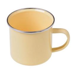 GRÄWE Tasse Gräwe Emaille-Tasse, 300 ml gelb