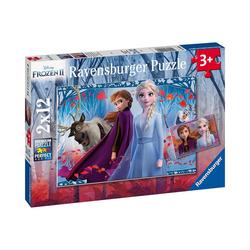 Ravensburger Puzzle 2er Set Puzzle, je 12 Teile, 26x18 cm, Frozen 2, Puzzleteile