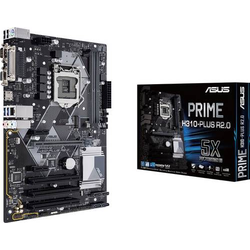 Asus PRIME H310-PLUS R2.0 Mainboard Sockel Intel® 1151 Formfaktor ATX Mainboard-Chipsatz Intel® H3