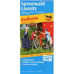 Spreewald - Lausitz 1:100 000