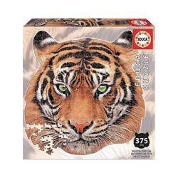Educa Puzzle Shape Puzzle Tiger face, 400 Teile, Puzzleteile