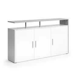 Vicco Sideboard AMATO Kommode Schrank Weiß Beton Fernsehschrank TV