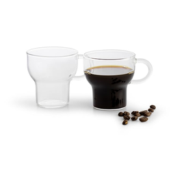 Sagaform Glastasse 2 Stk Klar 15 cl