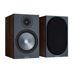 MONITOR AUDIO Bronze 100 (6G) Kompaktlautsprecher schwarz [Paar] Regal-Lautsprecher (100 W, Kompaktlautsprecher, 1 Paar, inklusive abnehmbarer Lautsprecherabdeckung)