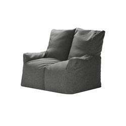 Sitzsack-Sofa  Fiete ¦ grau