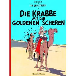 Tim und Struppi 08. Die Krabbe mit den goldenen Scheren als Buch von Herge