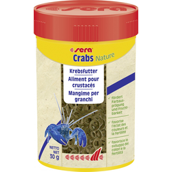 Sera Fischfutter crabs natural 100 ml